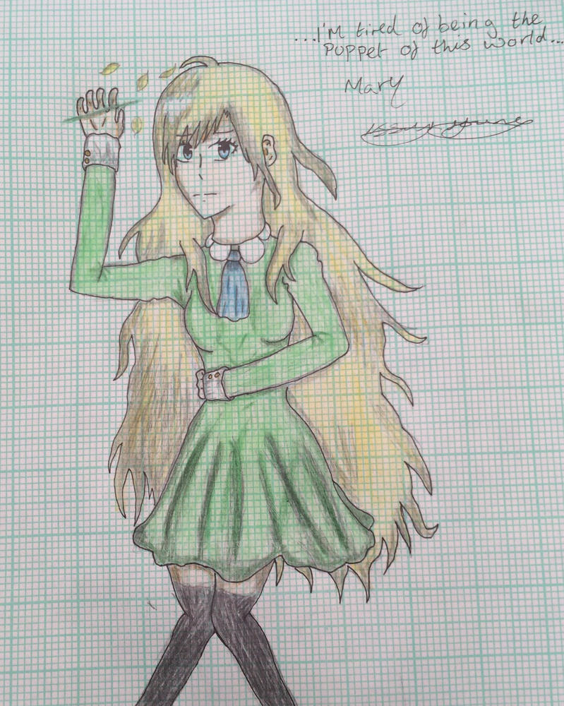 Mary drawing by epicbubble7