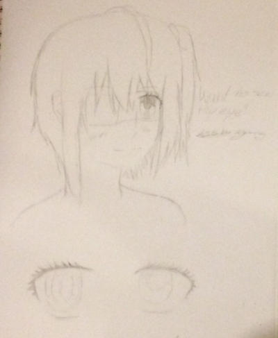 Rikka from chuunibyou demo koi ga shitai WIP by epicbubble7