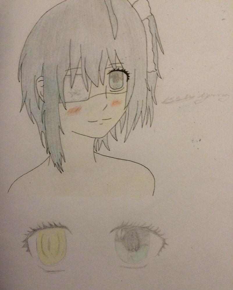Rikka from  chuunibyou demo koi ga shitai finished by epicbubble7