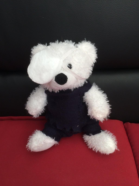 Ken Kaneki bear by epicbubble7