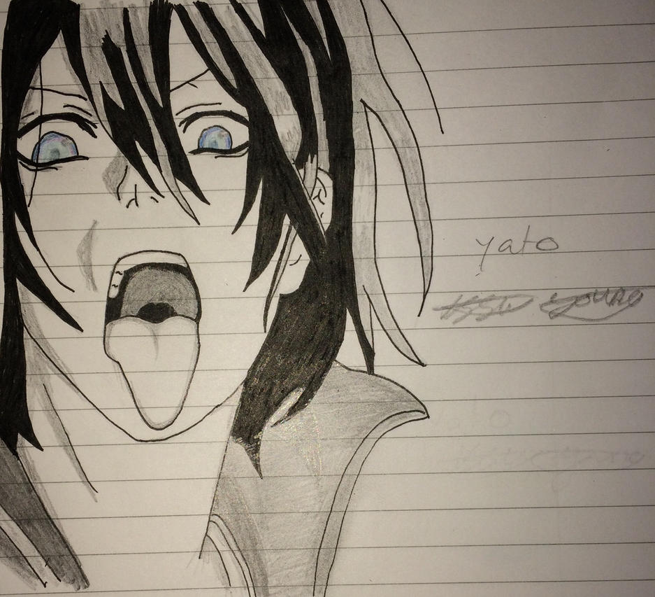Yato from noragami completed  by epicbubble7
