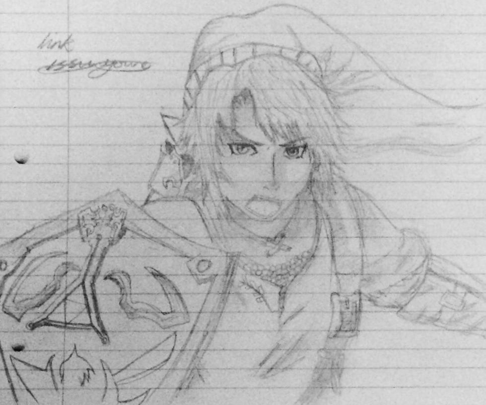 Legend of Zelda Link by epicbubble7