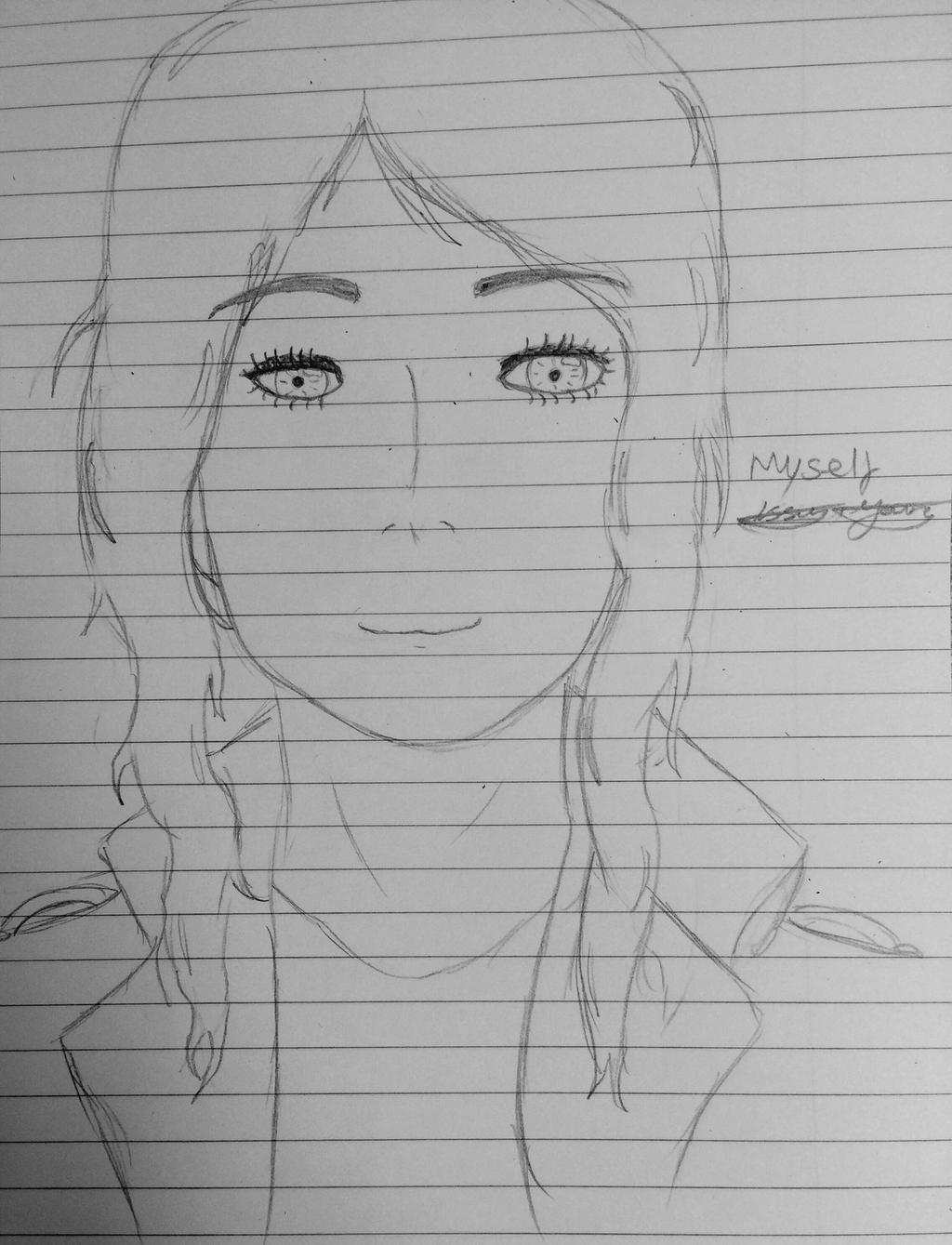 Self drawing  by epicbubble7