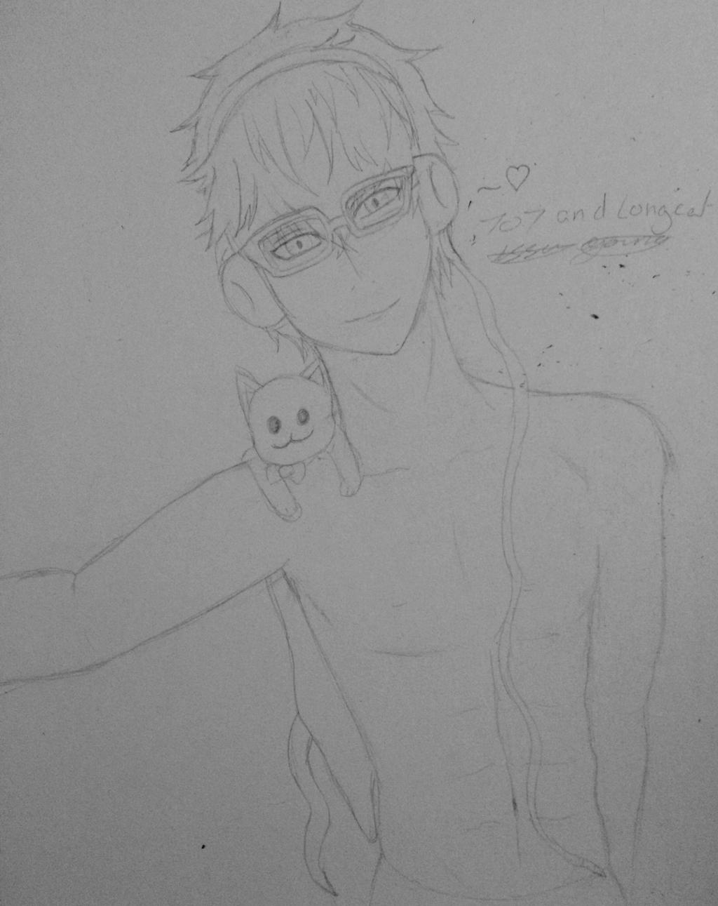 707 Mystic Messenger WIP by epicbubble7