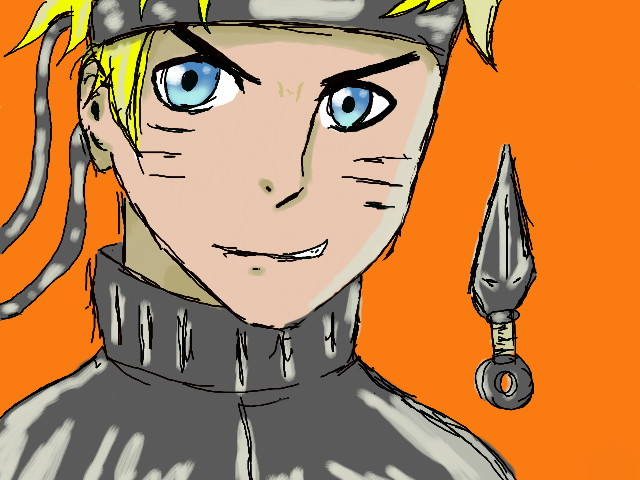 Naruto Sketch by epicbubble7