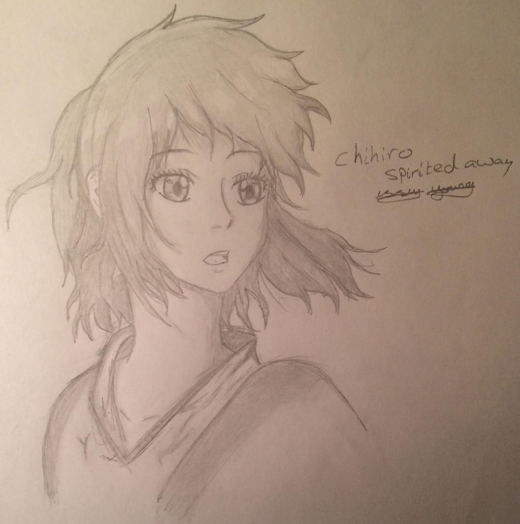 Chihiro Spirited Away by epicbubble7