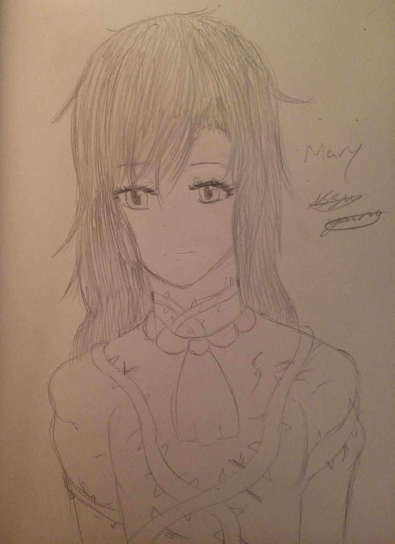 Mary (Ib) by epicbubble7
