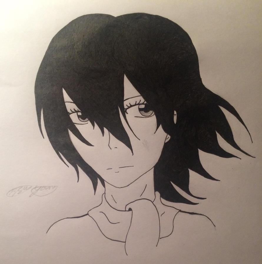 Mikasa Ackerman by epicbubble7