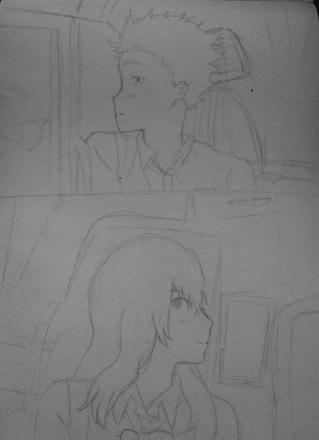 A silent voice (WIP?) by epicbubble7