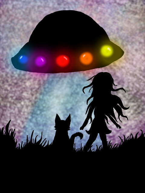 UFO (shadow type attempt) by epicbubble7