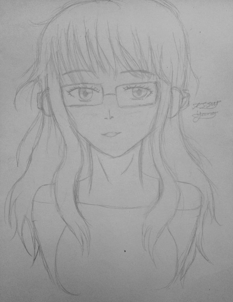 Futaba sketch  by epicbubble7