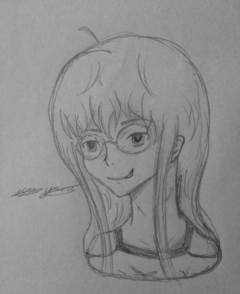 Futaba sketch by epicbubble7