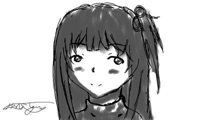 Random sketch by epicbubble7