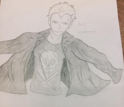 Kanji sketch by epicbubble7