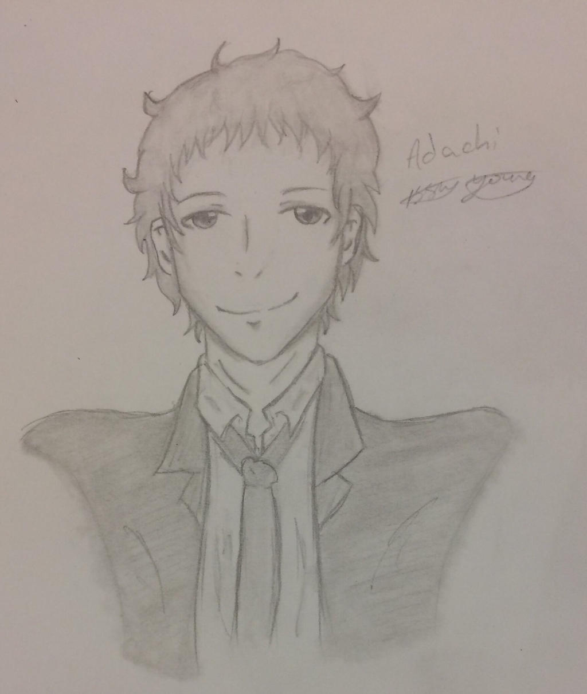 Adachi sketch by epicbubble7