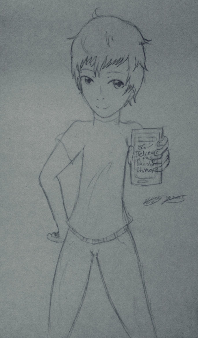 Mishima doodle by epicbubble7