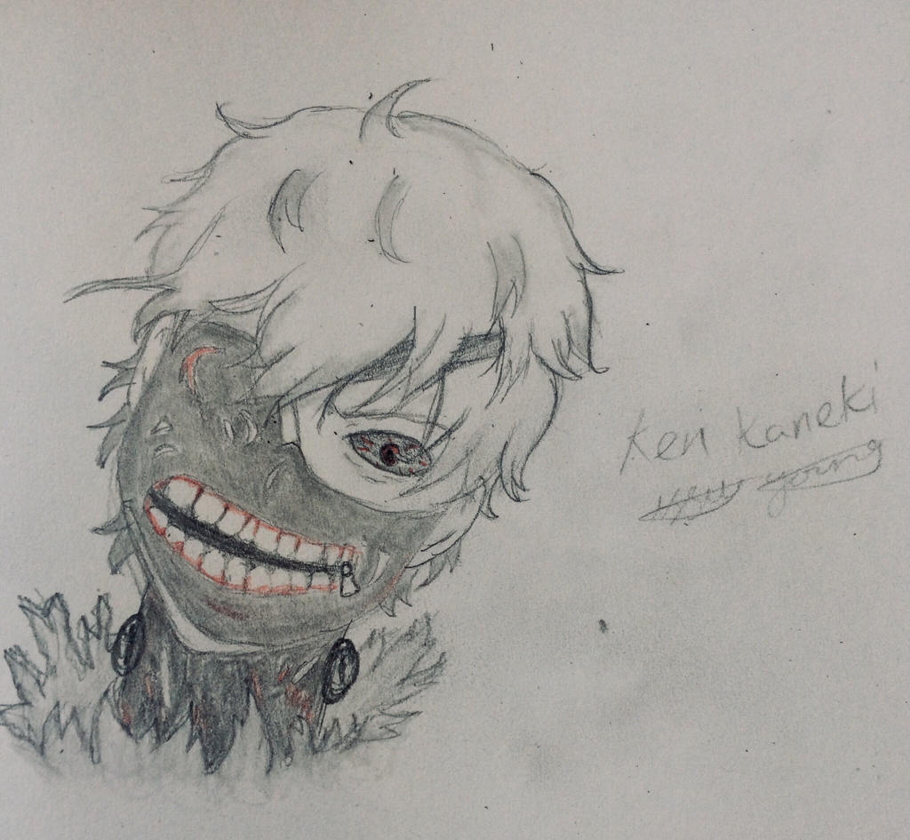 Ken Kaneki doodle  by epicbubble7