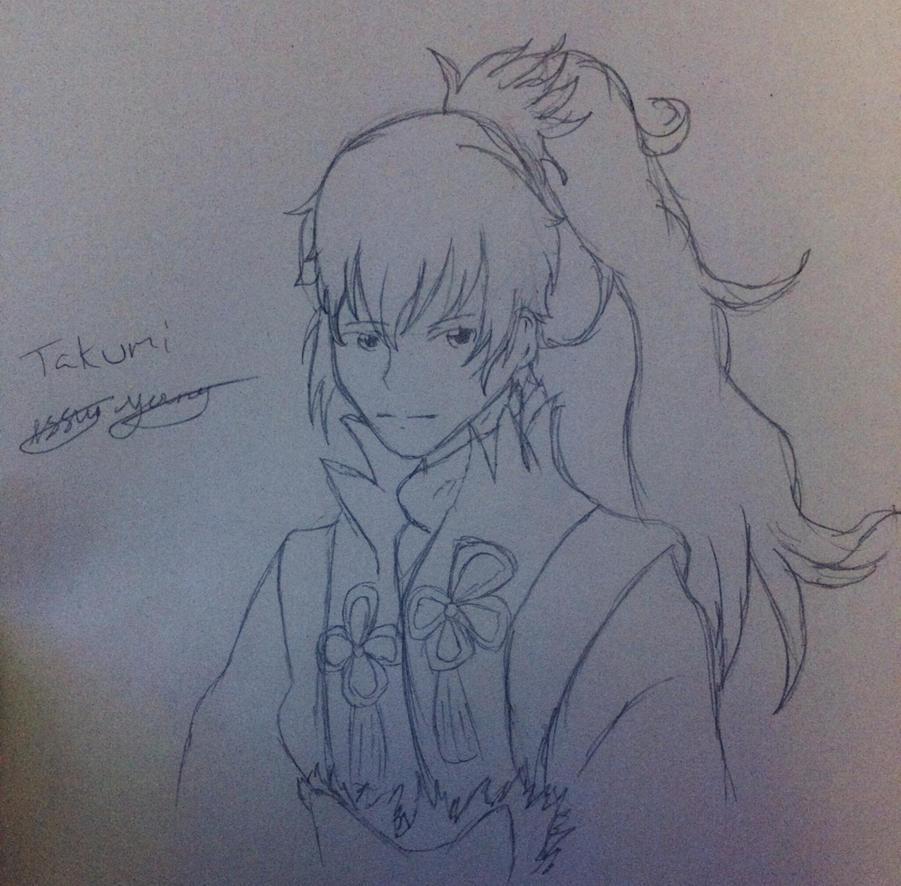 Takumi Fire Emblem Fates by epicbubble7