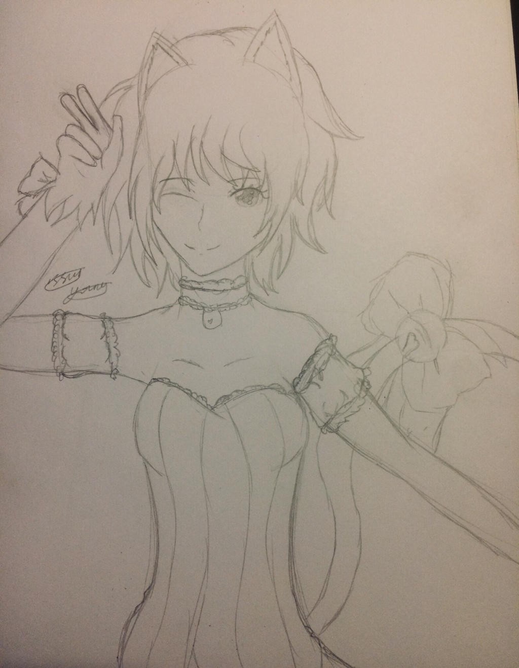 Zoey/Ichigo Mew Mew Power by epicbubble7