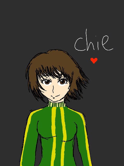 Chie Persona 4 by epicbubble7