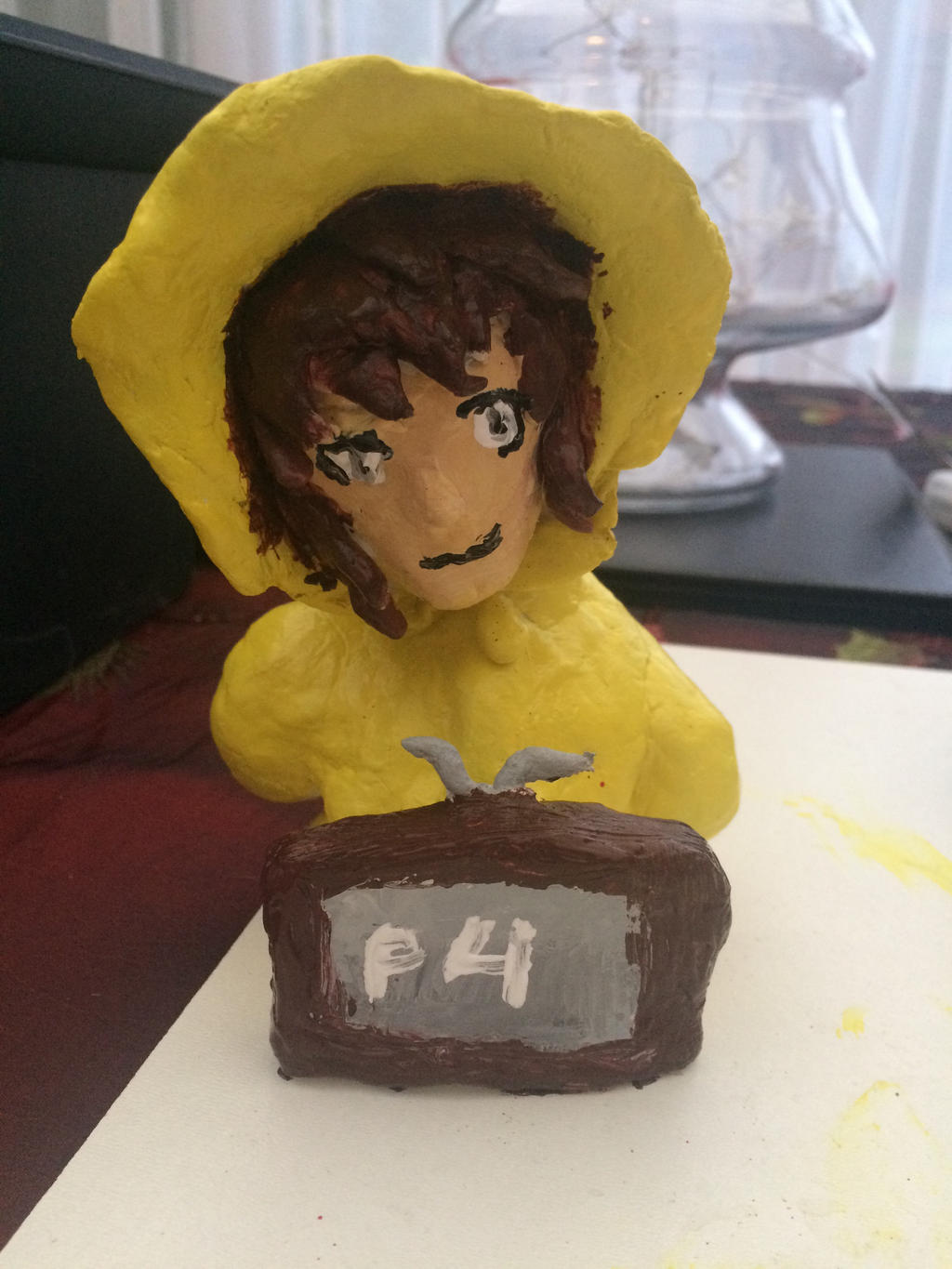 Adachi clay finished  by epicbubble7