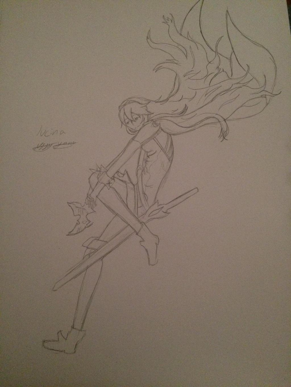Lucina Fire Emblem Awakening by epicbubble7