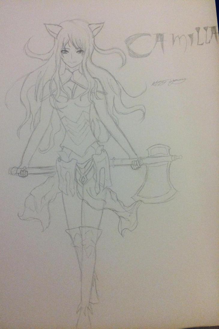 Camilla Fire Emblem  by epicbubble7
