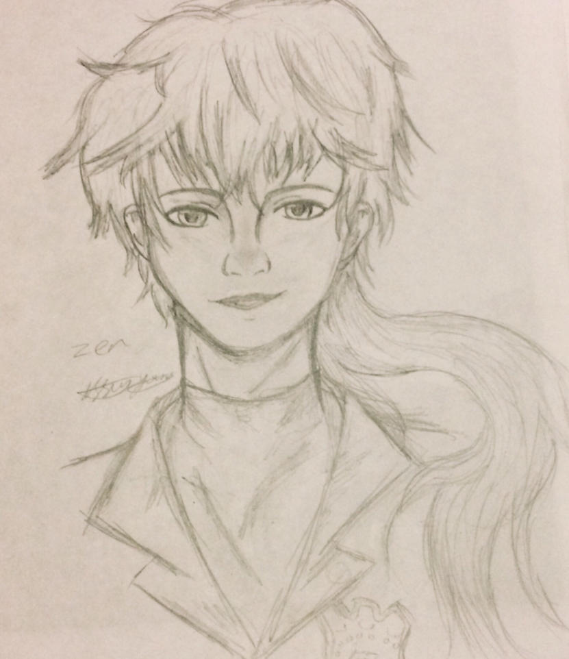 Zen (realistic attempt) Mystic Messenger  by epicbubble7