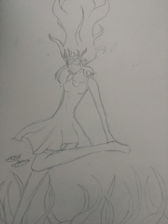 Deep Sea Girl by epicbubble7