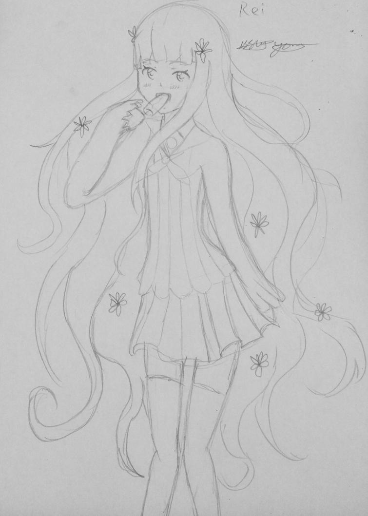 Rei Persona Q by epicbubble7