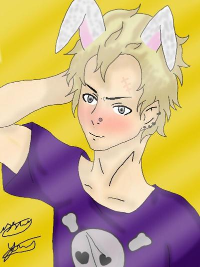 Bunny Kanji by epicbubble7