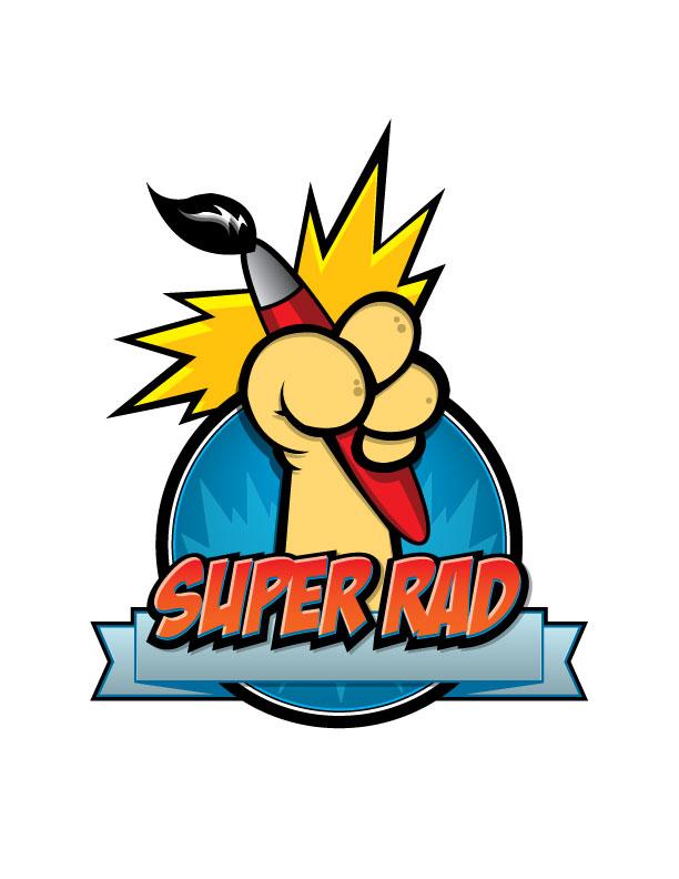 Super Rad Art Jam - Logo by MightyPowerBluesW8