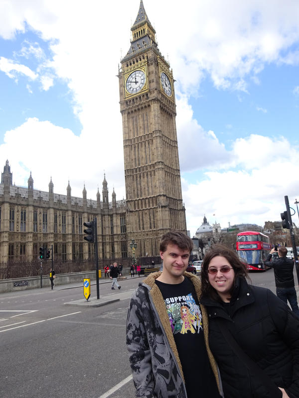 LJ and Vire invades London by Jasper-and-company