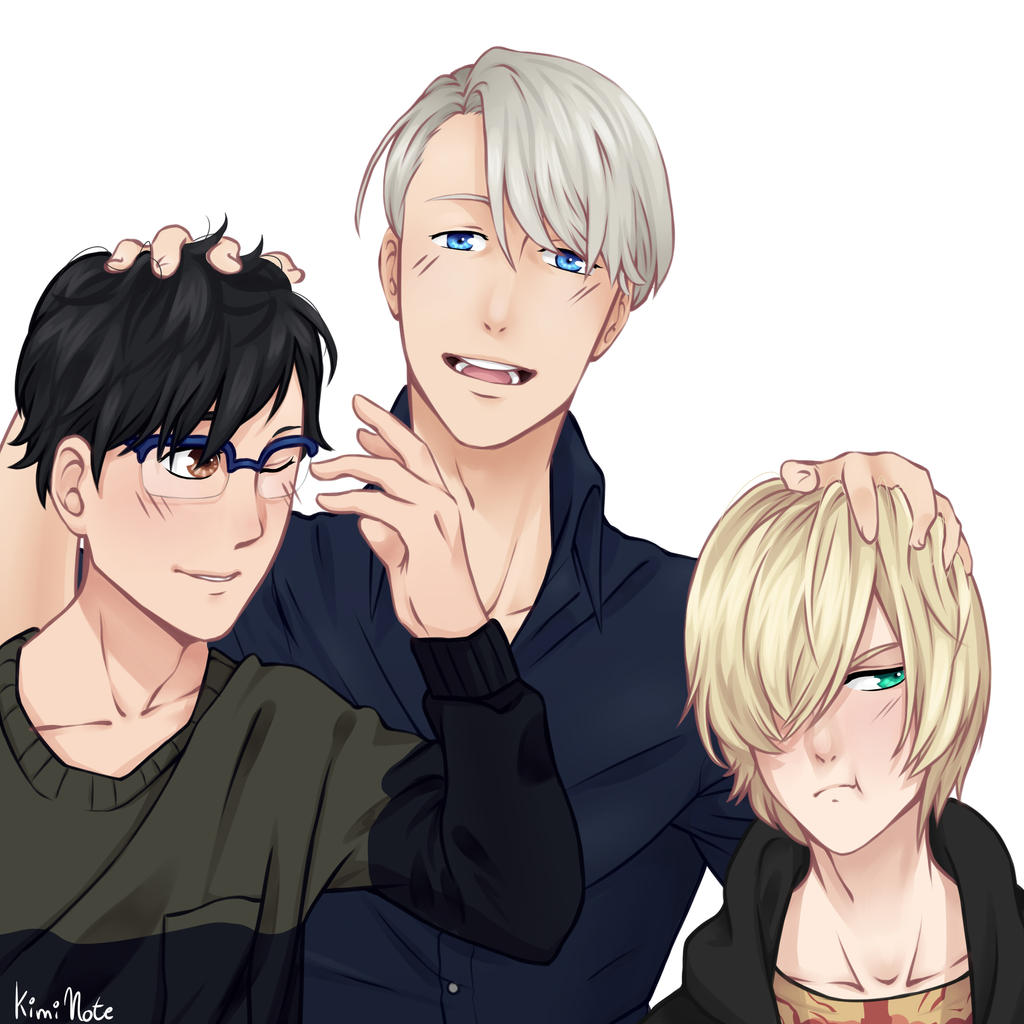 Yuri!! On Ice by Kimi-Note on DeviantArt Smiling Dog And Cat
