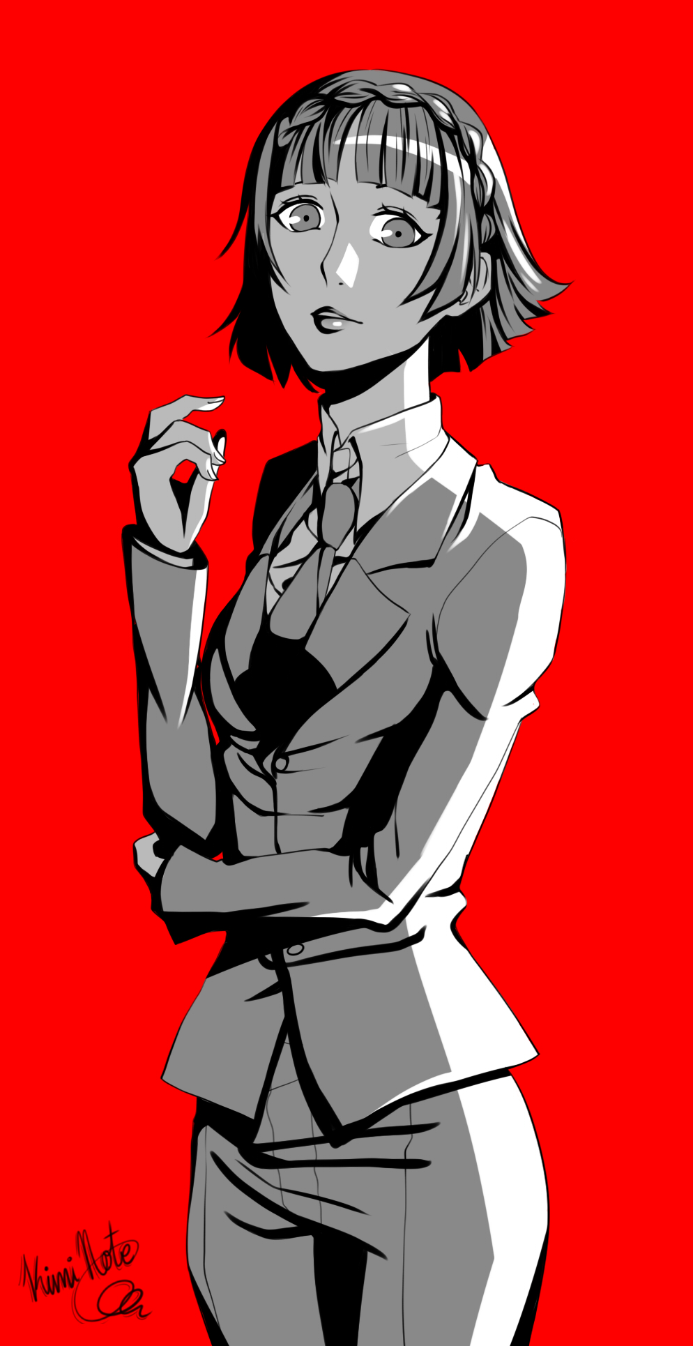 Persona 5 - Makoto Niijima (Suit) by Kimi-Note on DeviantArt