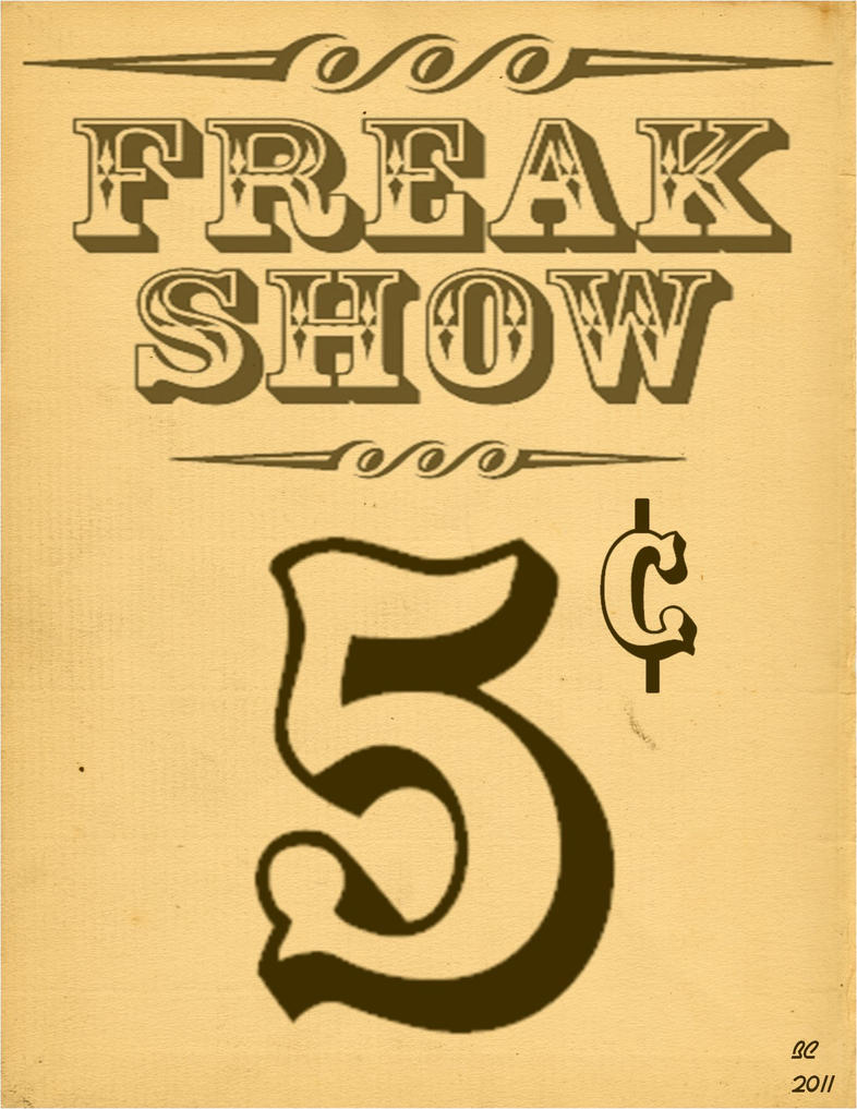 Freak Show Poster By Desithen