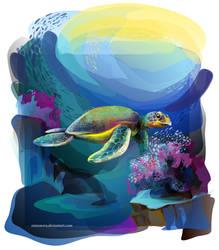turtle by Ramonova