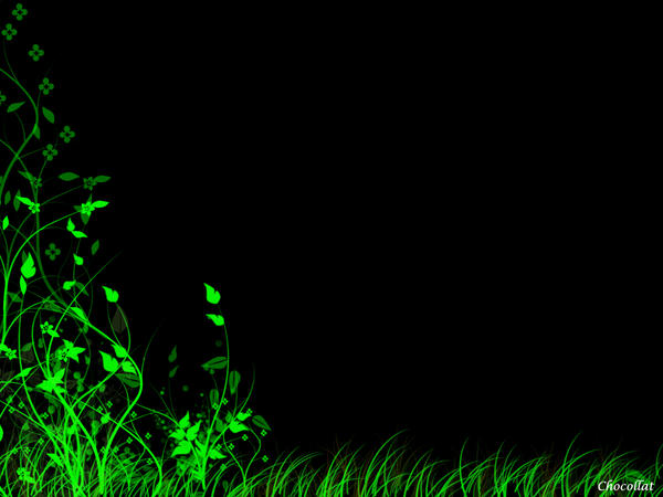 Greenish Wallpaper By Chocollat On DeviantArt