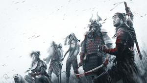 Shadow Tactics - Blades of the Shogun [KEYARTWORK] by lucas-reiner
