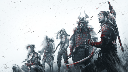 Shadow Tactics - Blades of the Shogun [KEYARTWORK] by lucas-reiner