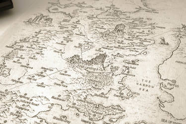 A Song Of Ice And Fire Speculative World Map By Lucas Reiner On