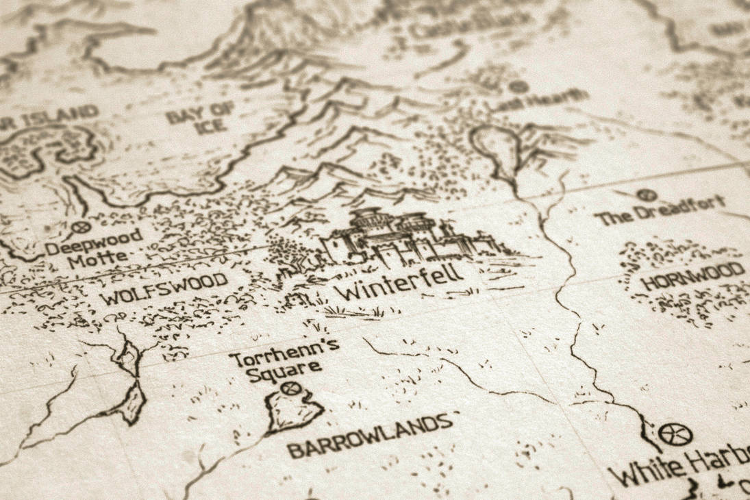 Asoiaf Speculative World Map Winterfell By Lucas Reiner On Deviantart