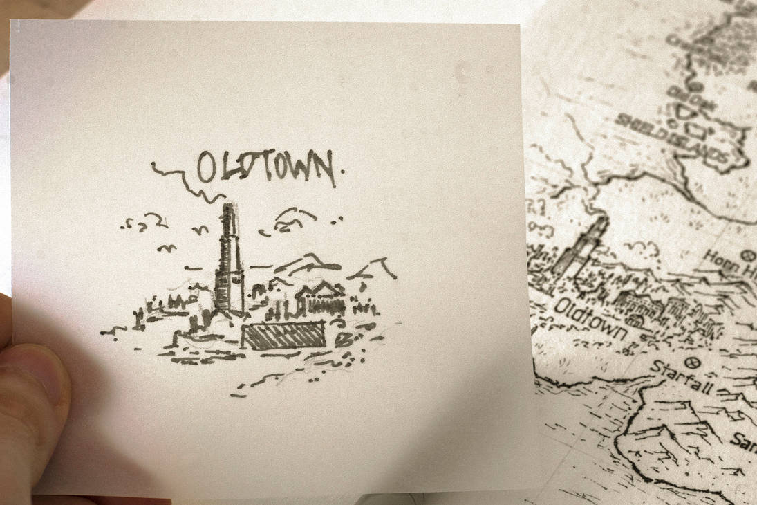 Asoiaf Speculative World Map Oldtown By Lucas Reiner On Deviantart