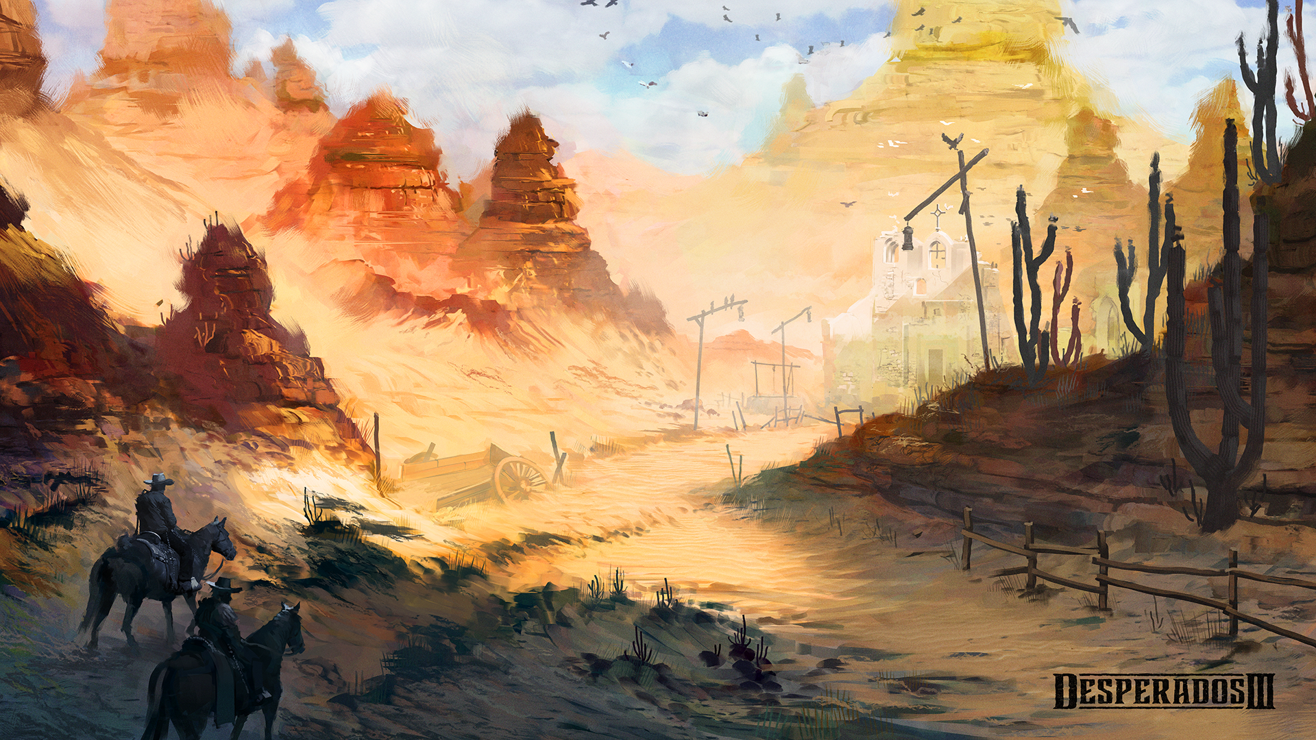 Desperados 3 Ruins Mood Concept By Lucas Reiner On Deviantart
