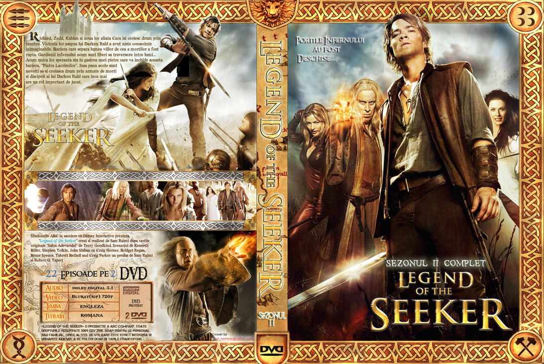 Legend Of The Seeker DVDCover2 by ovinemesis300