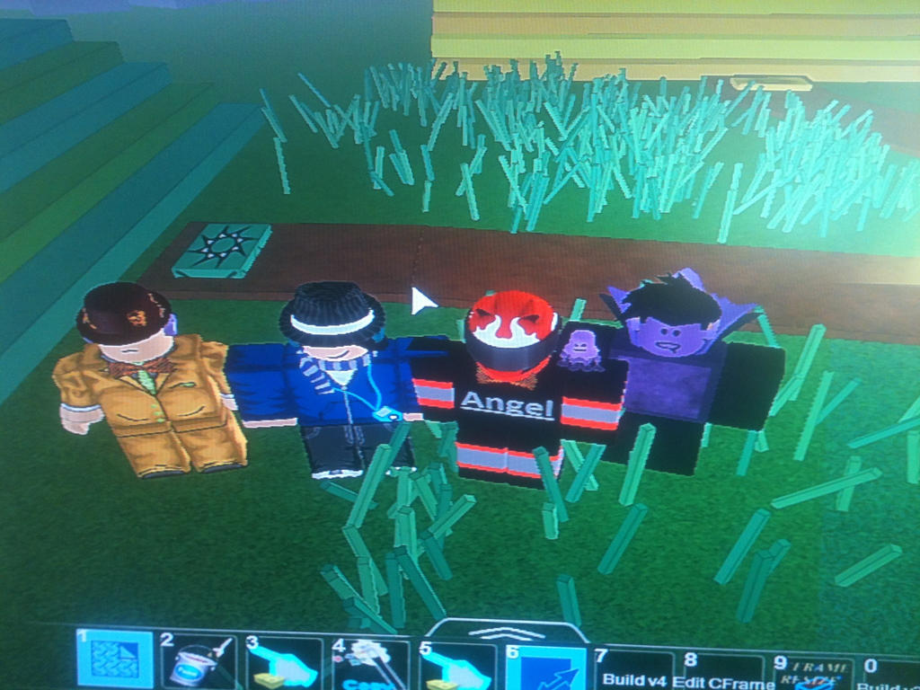 Me and my friends from ROBLOX by Angeltheherovampire on
