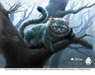 The Cheshire Cat - Concept Art by AliceInWonderland