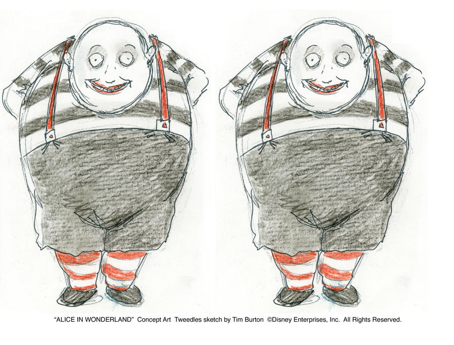 TWEEDLES - Concept Art by AliceInWonderland