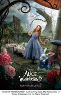 Alice Triptych Artwork - left by AliceInWonderland