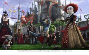 The Red Queen - in action by AliceInWonderland